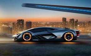 Обои Concept, Lamborghini, Terzo Millennio
