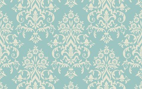 Обои seamless, винтаж, background, орнамент, ornament, foral, texture, текстура, retro, vector, design, template, pattern, vintage