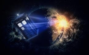Картинка space, Doctor Who, doctor, tardis