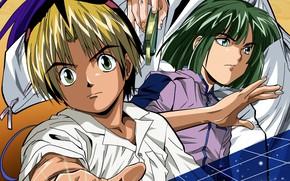 Картинка мальчики, игроки, Hikaru no Go, Хикару и го