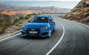 Картинка Audi, 2018, RS4, Avant