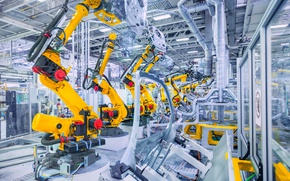 Картинка machines, robotics, Industry