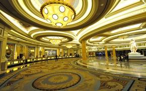Обои Лас-Вегас, США, отель, казино, Caesars Palace