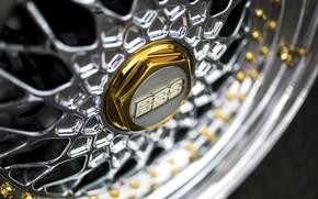 Картинка золото, колесо, диск, gold, bbs, wheel, ббс