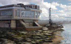Картинка камни, сооружение, объект, водоём, capsule