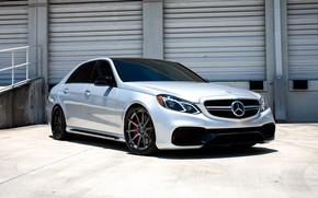 Картинка Mercedes, wheels, AMG, E63, COR, lowered