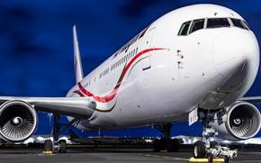 Картинка Boeing, авиалайнер, Boeing 767