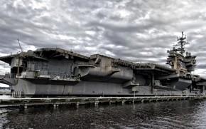 Картинка оружие, флот, USS Kitty Hawk