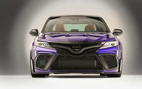 Обои tuning, Camry, Rutledge Wood, фары, Toyota