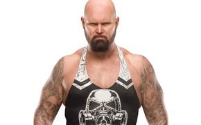 Картинка татуировка, рестлер, tattoo, WWE, Raw, Luke Gallows, Люк Гэллоус