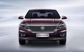 Картинка Volkswagen, седан, вид спереди, 2018, Plus, Lavida