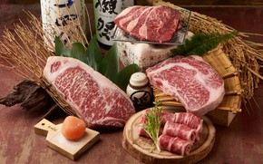 Картинка мясо, стейк, мраморное