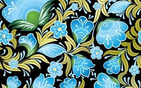 Обои seamless, бесшовный, Цветы, Floral, паттерн, pattern