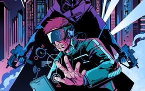Картинка Synth Wave, CyberCrime LP, Roborg