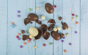 Картинка Шоколад, Яйца, Сладость