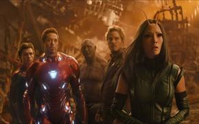 Обои Герои, Костюм, Актер, Актриса, Кино, Heroes, Superheroes, Броня, Железный человек, Фильм, Актеры, Фантастика, Iron Man, ...