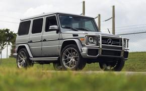 Картинка Mercedes, AMG, G63, Silver, W463