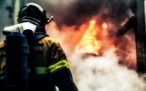 Картинка Fire, Man, Fireman
