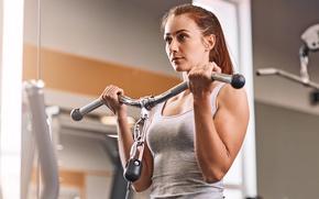 Картинка woman, workout, fitness