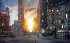 Картинка перекрёсток, Inspired by Fantastic Beasts movie, New York Scenes