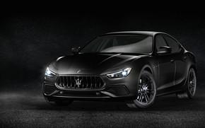 Картинка Maserati, 2018, Ghibli S, Q4 Nerissimo