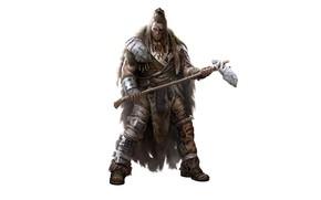 Картинка оружие, воин, меха