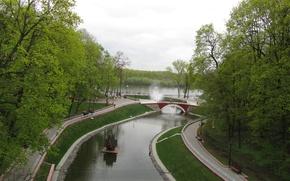 Картинка город, парк, гомель