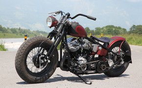 Картинка Bike, Custom, Motorbike, Motorcycle, Bobber