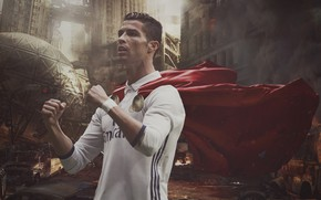 Картинка Португалия, Cristiano Ronaldo, футболист, Криштиану Роналду