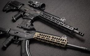 Обои кастом, АР-15, AR-15, weapon, Gun, Galil, Custom, Штурмовая винтовка, Галил, Assault Rifle, Автомат, оружие