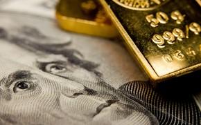 Картинка gold, money, dollar