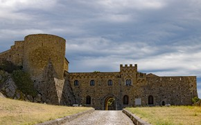 Картинка замок, Италия, Апулия, Бовино