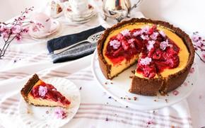 Картинка торт, джем, чизкейк