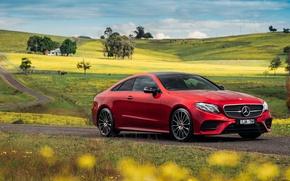 Обои купе, Mercedes-Benz, E-class, мерседес, AMG, Coupe, C238
