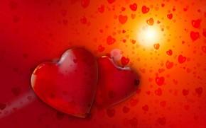 Картинка любовь, сердечко, влюбленные, День Святого Валентина, сердце