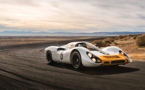 Обои Porsche, Coupe, 908, Kurzheck