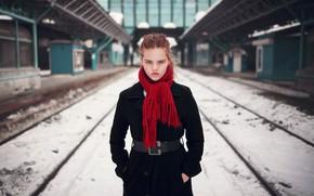 Картинка шарф, губки, пальто, Михаил ∞ Полет, Гульнара Алюшева
