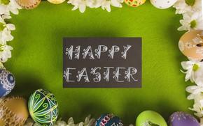 Картинка Пасха, Яйца, Праздник