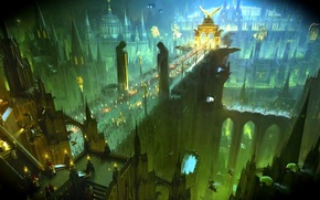 Обои earth, people, human, Imperium of Mankind, Warhammer 40 000, w40k, Holy Terra