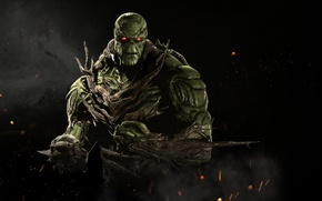Картинка green, game, NetherRealm Studios, Injustice 2, Swamp Thing