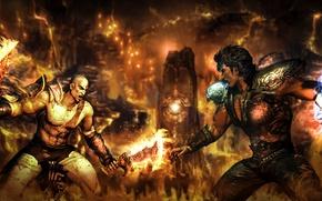 Картинка game, Kratos, God of War, anime, spartan, strong, blade of chaos, god slayer, ghost of …