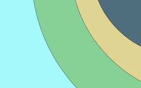 Картинка круги, абстракция, обои, wallpaper, color, material