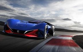 Картинка concept, peugeot, racing