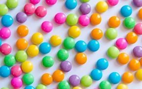 Картинка фон, радуга, colorful, конфеты, сладости, background, sweet, candy