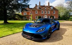 Картинка car, Lotus, house, garden, vegetation, Lotus Exige, Lotus Exige Cup 380, Lotus Exige Cup