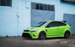 Картинка Ford, Focus, Street, Garage