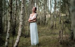 Картинка девушка, природа, Julia Wendt, Andreas-Joachim Lins