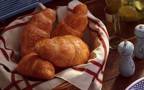 Картинка еда, завтрак, утро, круассан, Bondok Max, Breakfast Time