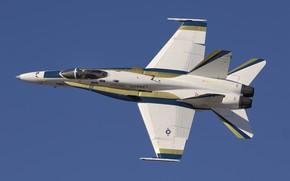 Картинка F/A-18, истребитель-бомбардировщик, Hornet, McDonnell Douglas
