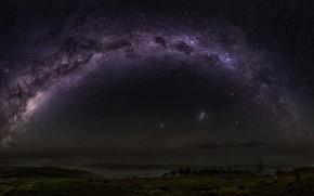 Картинка ночь, природа, млечный путь